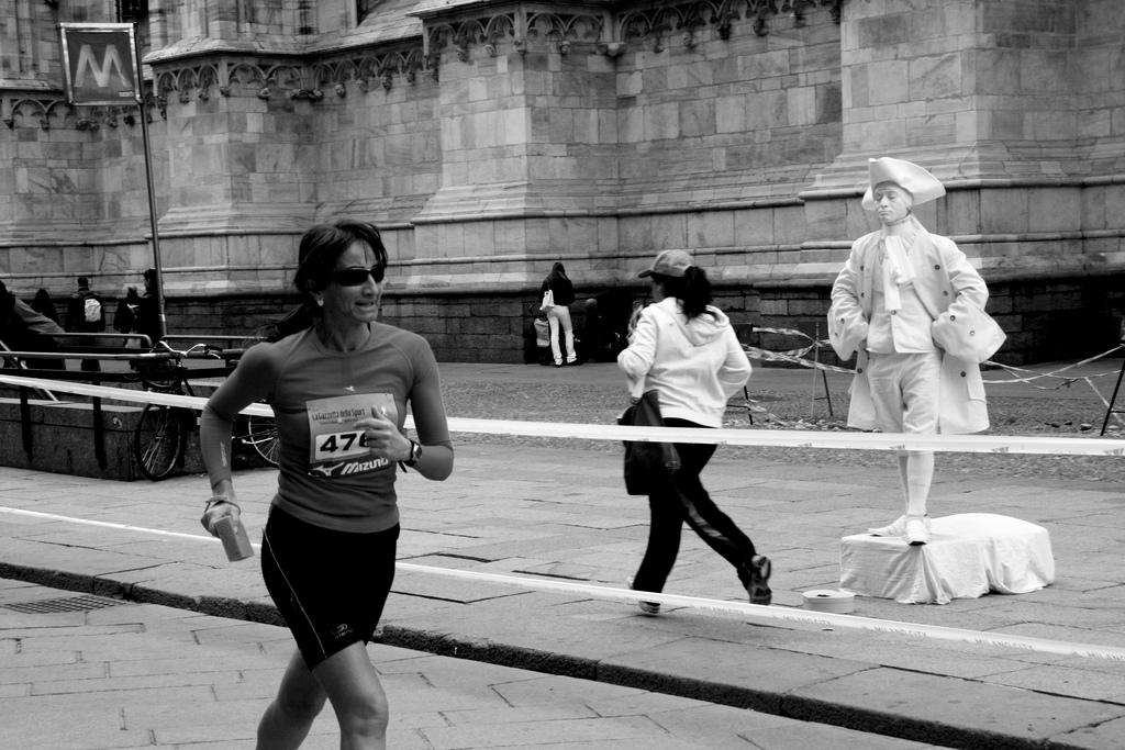 Milano City Marathon 2010 Chi viene, chi va. E chi sta.