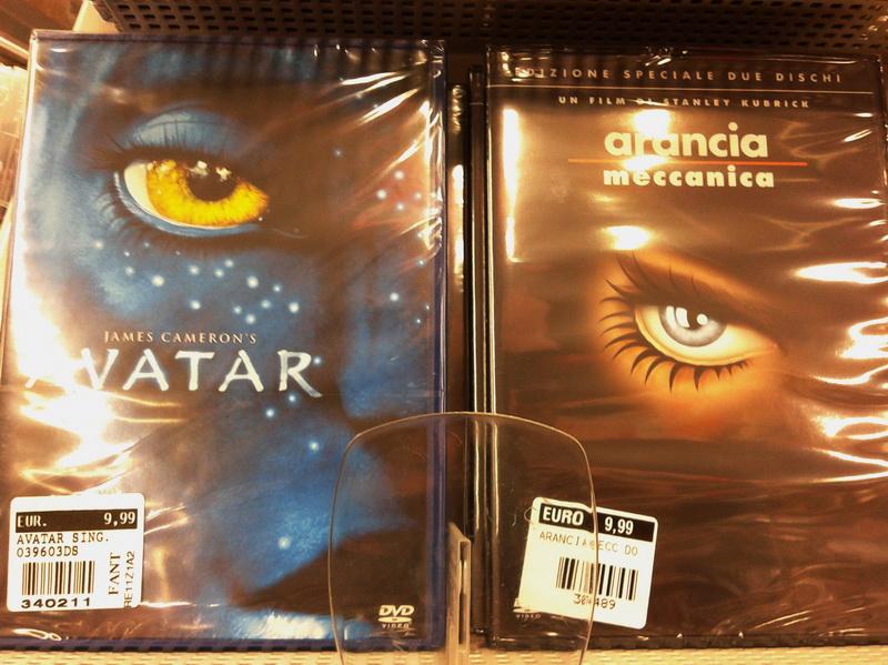 copertine dvd avatar arancia meccanica