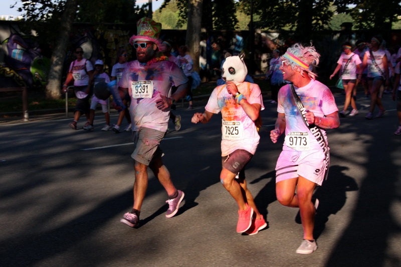 panda color run